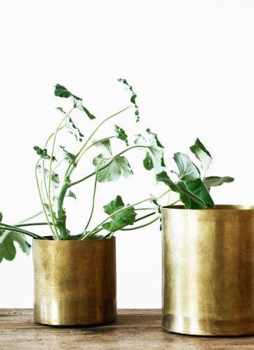 brass pots | Artilleriet | Inredning Göteborg
