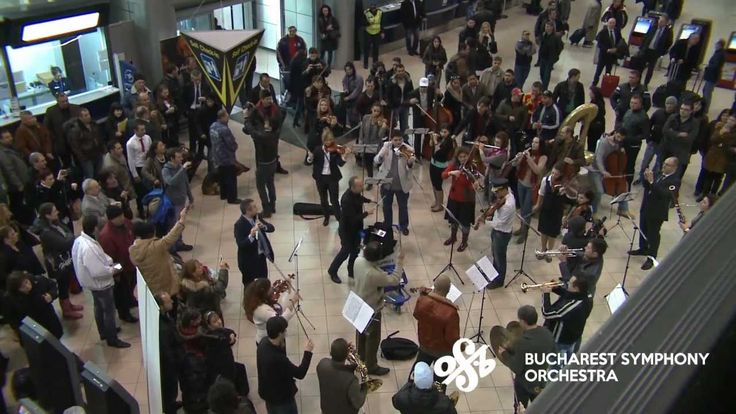 [Official] Flash Mob at Bucharest International Henri Coanda Airport by ...