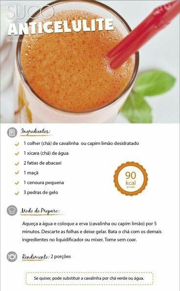Suco Anticelulite