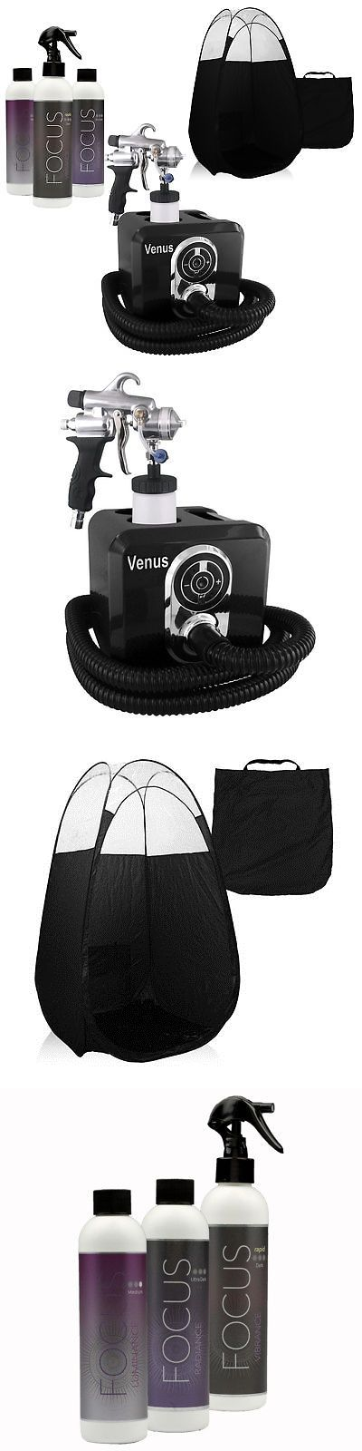 Airbrush Tanning Kits: Venus Ultra Spray Tanning Kit With Black Tent And Sunless Tanning Solution -> BUY IT NOW ONLY: $339 on eBay!
