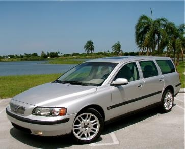 2001 Volvo V70 T5 - I always wanted a Volvo station wagon for a very long time and finally got  in late 2000. 105,000 miles later...just getting broke in.