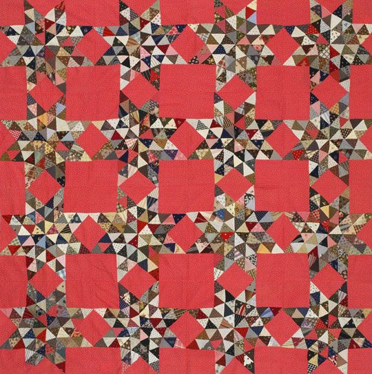 Color Options from American Patchwork and Quilting® October 2009: Triangles Stars, Stars Quilts, Patchwork Quilts, Color, Antique Quilts, Antiques Quilts, Patchwork Quilting, Wildest Dreams, Scrappy Stars