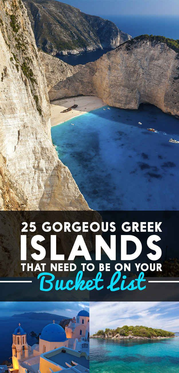 25 Gorgeous Greek Islands That Need To Be On Your Bucket List