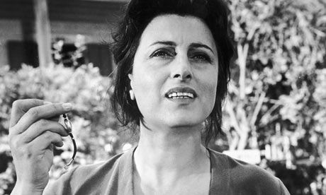 Anna Magnani in 'The Rose Tattoo', 1955