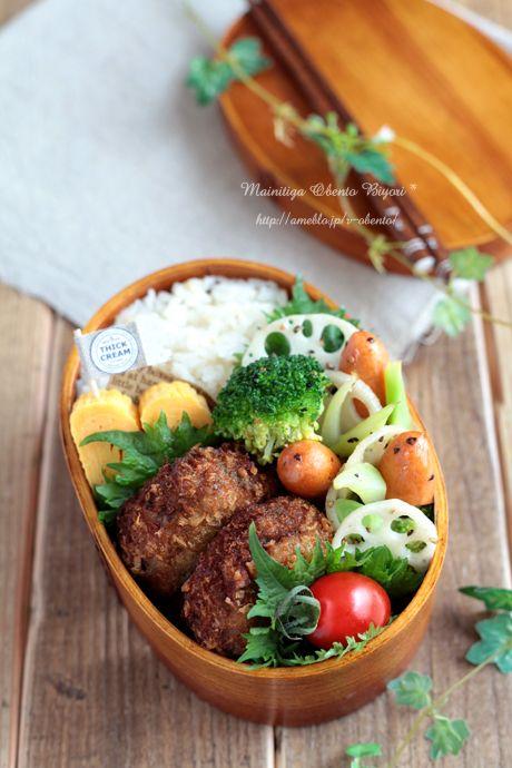 大葉豆腐メンチカツ弁当