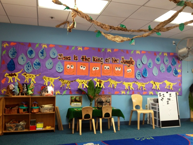 Daycare ideas on Pinterest | Preschool Classroom, Jungle Door and ...