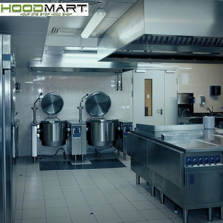 Restaurant Kitchen Pass: Kitchen Backsplash White Cabinets, Exhaust Hood