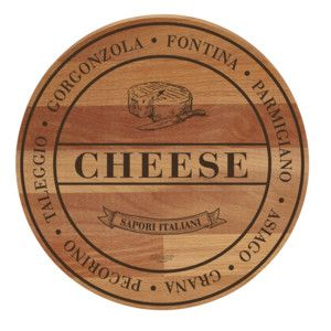 Lopárik z bukového dreva Bisetti Broad Cheese, 30 cm