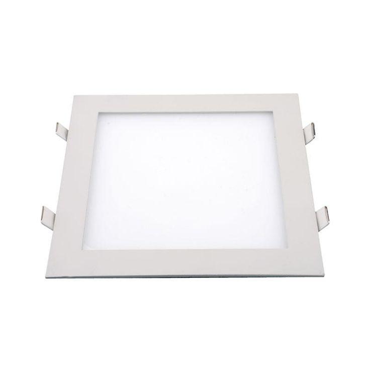 LED PANELS : ΦΩΤΙΣΤΙΚΟ LED SLIM ΧΩΝΕΥΤΟ ΛΕΥΚΟ 300Χ300 24W 4000K
