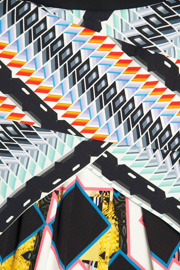 Peter Pilotto Bianca Printed Dress detail