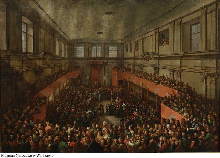 Znalezione obrazy dla zapytania konstytucja 3 maja obraz