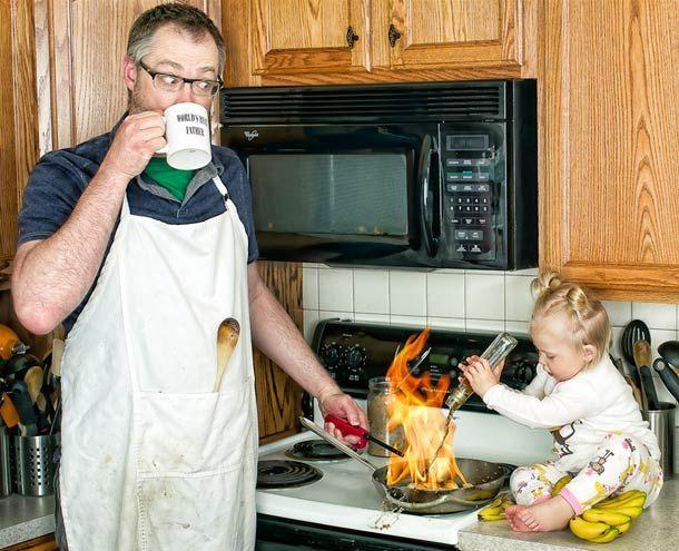 World's Best Father – Un Papa créatif s'amuse avec sa fille
