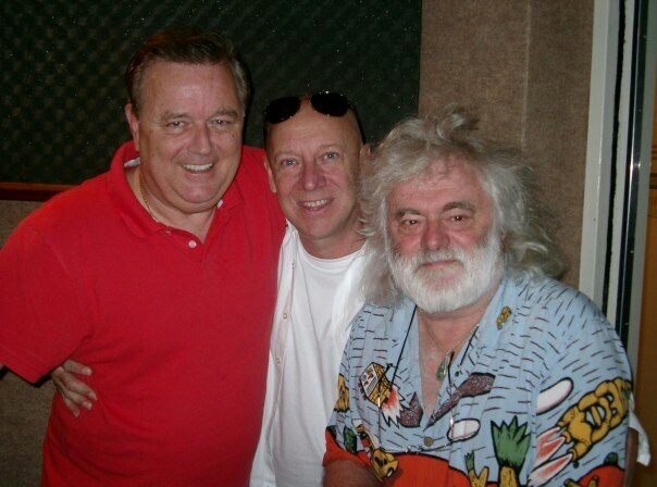 60's/70s icons for Australia JOHNNY YOUNG, RUSSELL MORRIS, BRIAN CADD 2012