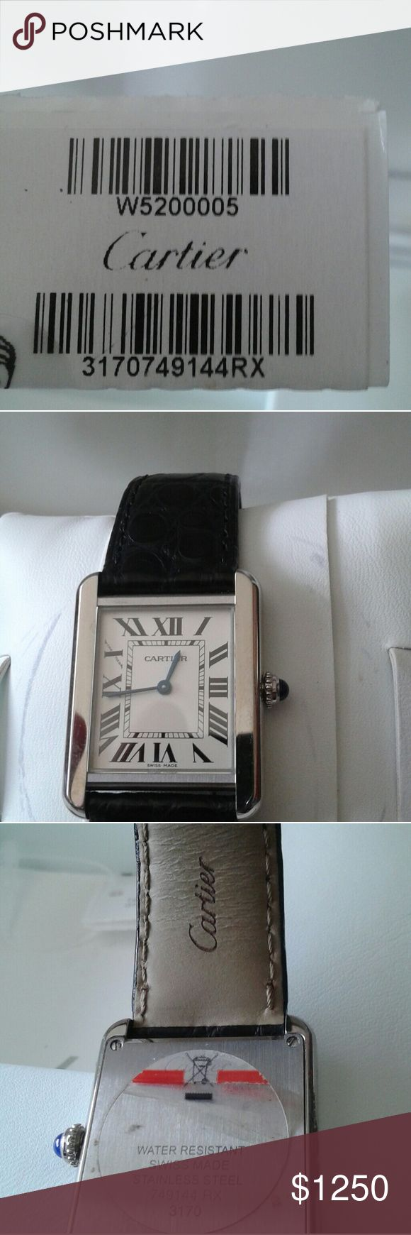 Cartier watch Almost new used once Cartier Other