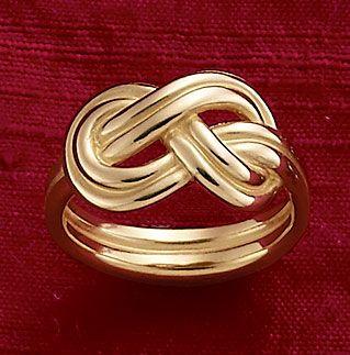 True Love Knot Ring #JamesAvery