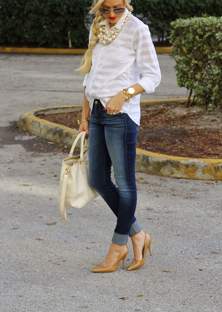 Trends in fashion: Prettiest jeans outfits on Pinterest