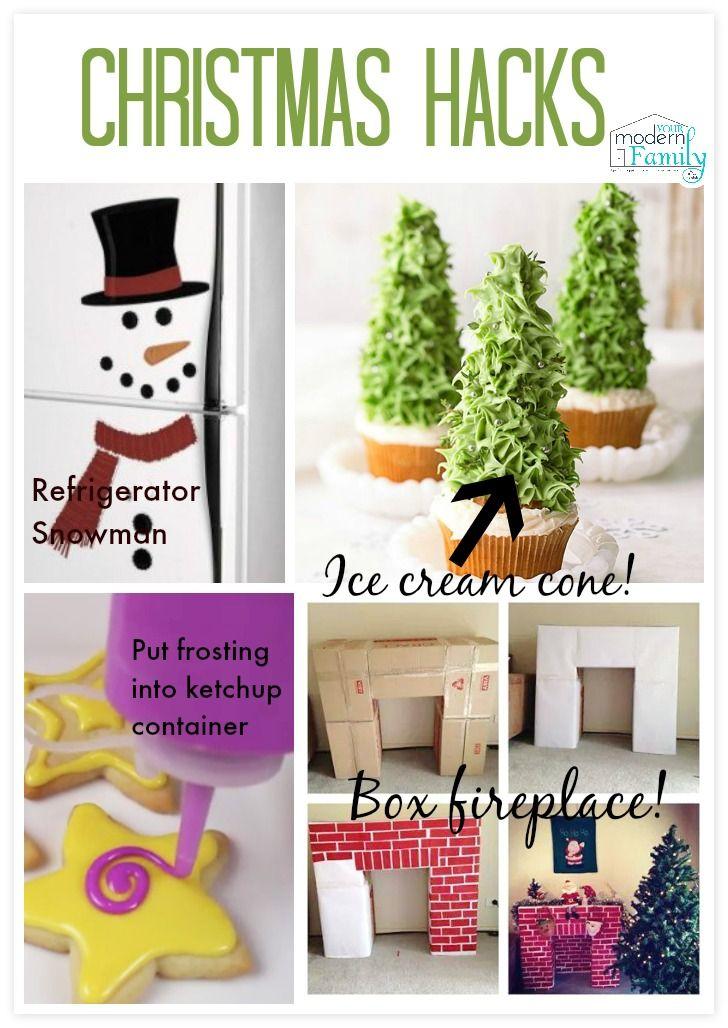 Christmas Hacks (making life easier)   #unstoppableMoms #Christmas #LifeHacks