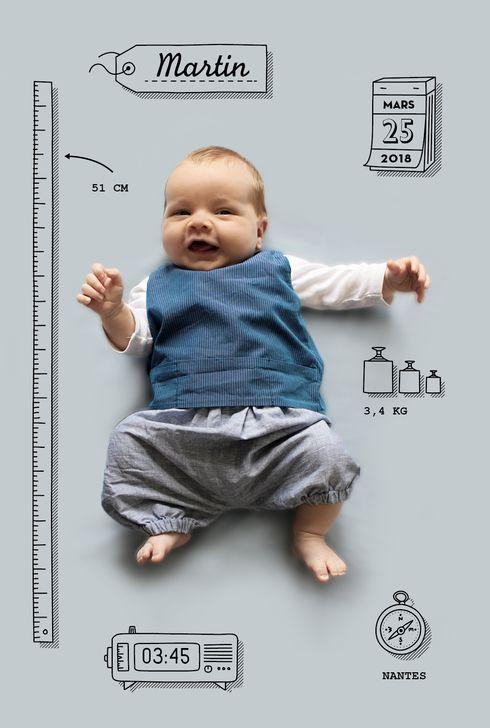 Connu Les 25 meilleures idées de la catégorie Photo bébé naissance sur  UQ07