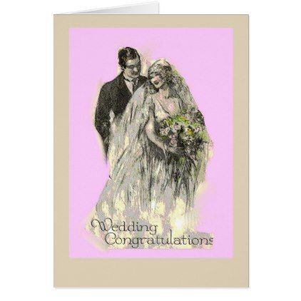 #bride - #Wedding Congratulations Wedding Greeting Card