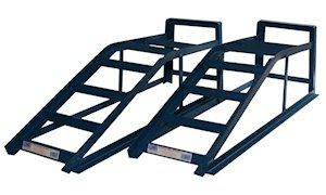 Wide Car Ramps Low Entry 2.5 Tonne Pair + Low Entry Extensions: Amazon.co.uk: Car & Motorbike
