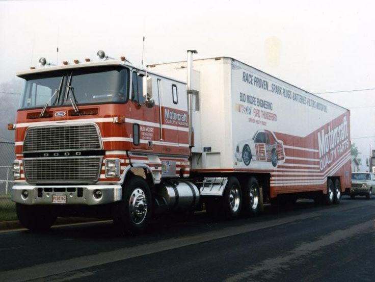 Motorcraft, Bud Moore, Ford CL9000, NASCAR