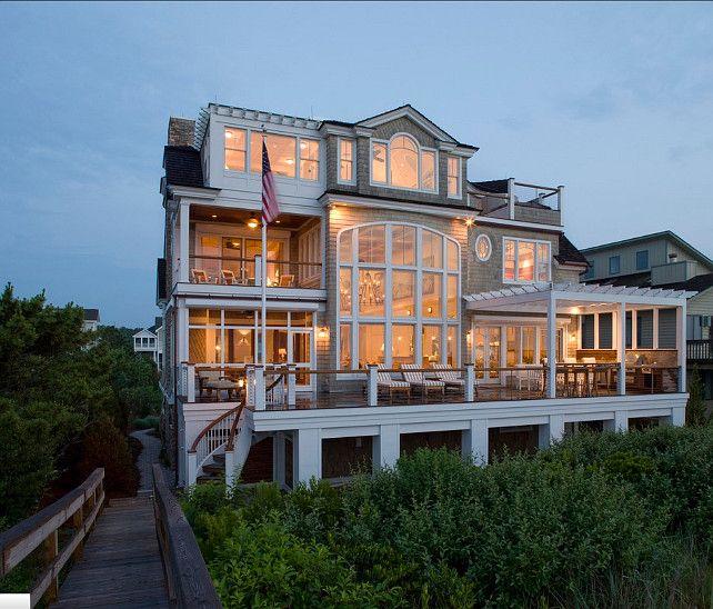 Beach House. This is the ultimate beach house! #BeachHouse