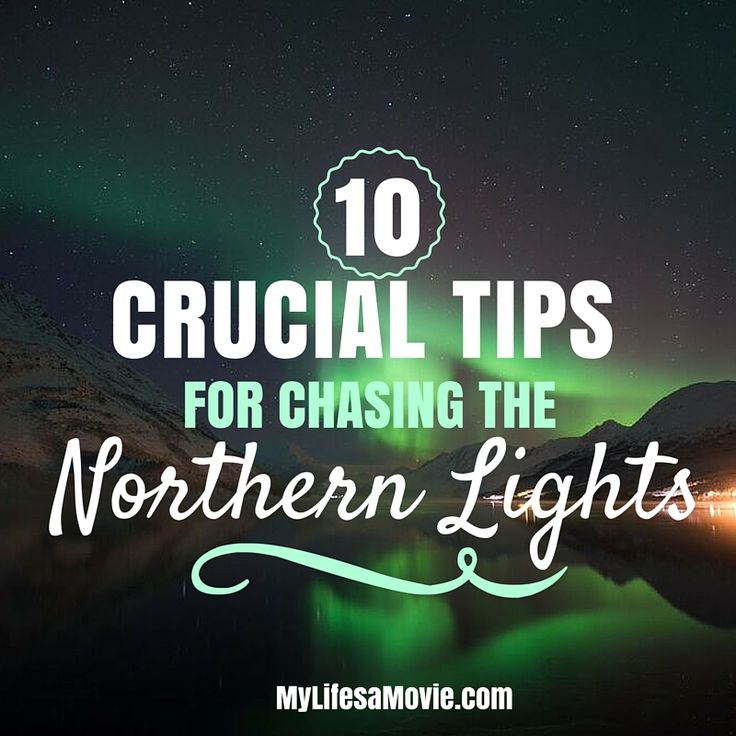 You can't just show up in Norway and expect to walk outside your hotel and see the Northern Lights. You have to plan when and where to go, and know what conditions to look for!