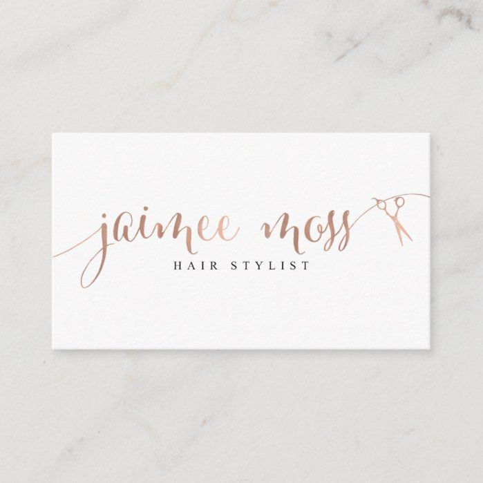 Jaimee Moss Business Cards Zazzle Com In 2021 Vistaprint Business Cards Gold Foil Business Cards Foil Business Cards