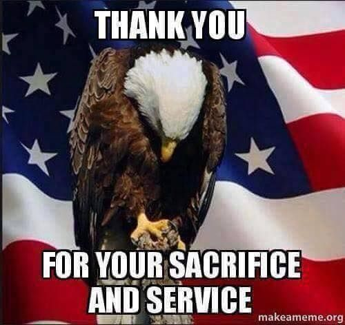 May you always remember the sacrifices which have been made for this country.