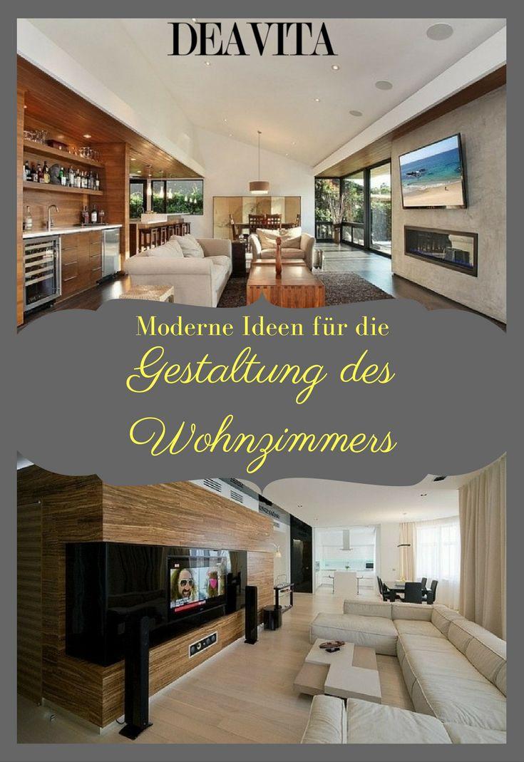 Wenn Sie Ein Modernes Wohnzimmer Gestalten Wollen Mssen Paar Merkmale Dieses Einrichtungsstils Beachten