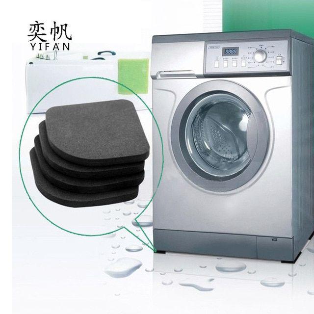 4pcs Set New Washing Machine Anti Vibration Pad Shock Proof Non
