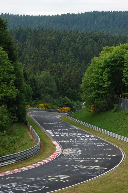 Welcome to the green hell! Nürburgring Nordschleife - Adenauer Forst