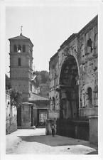RPPC ROME ITALY ROMA ARCO DI GIANO REAL PHOTO POSTCARD