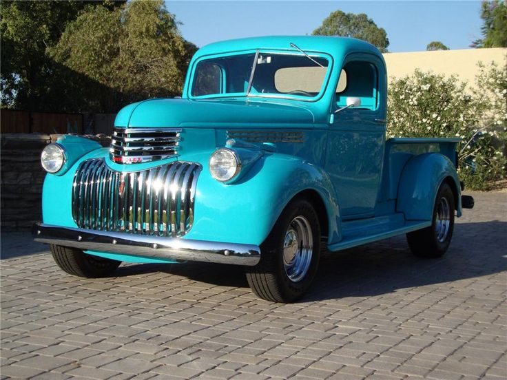 1946 Chevy..Re-Pin..Brought to you by #CarInsEugene & #HouseofInsurance