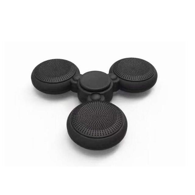 Portable Fidget Hand Spinner Speaker Wireless Bluetooth Hand Speakers Column Build-in Micphone for Hands free Phone Calls
