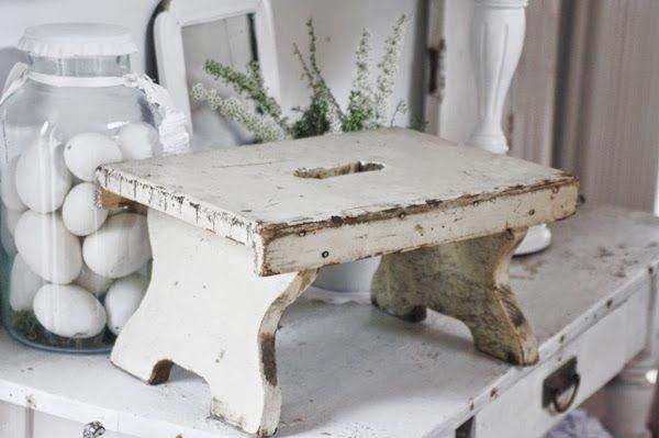 `I love little stools.