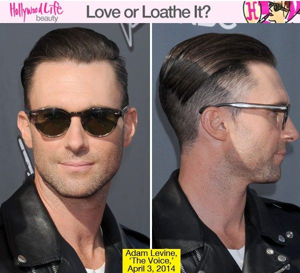 Adam Levine is known as the sexiest man alive — from his style to his hair to his personality, he is super sexy. He decided to change up his look on April 3 by going under a blade! He got the side and the back of his head shaved! This Maroon 5 singer might have just gotten hotter! What do you think?