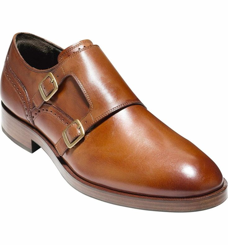 'Harrison' Double Monk Strap Shoe