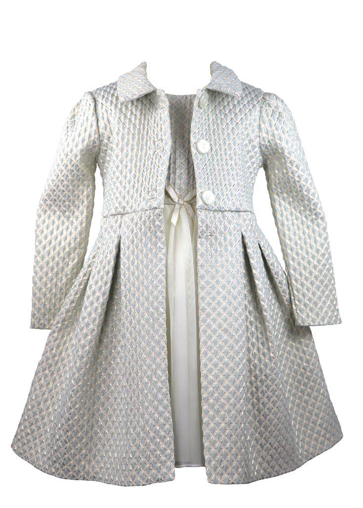 Coat Set! Found on dreamdress.at #girl, #girlsdress, #girlsfashion, #coatset, #specialoccasiondress, #flowergirl, #dreamdress, #cutegirl