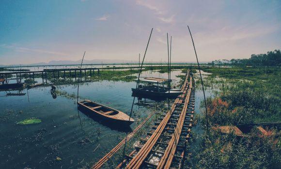 Beautiful Rawa Pening Lake Indonesia