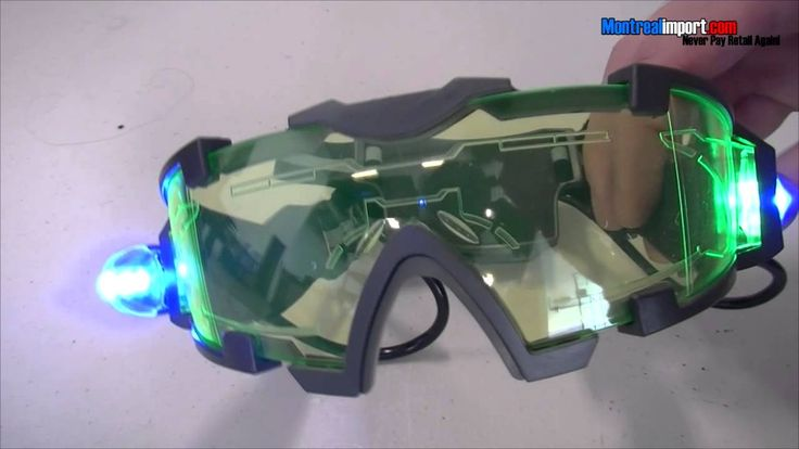Night Vision Goggles Glasses with Light