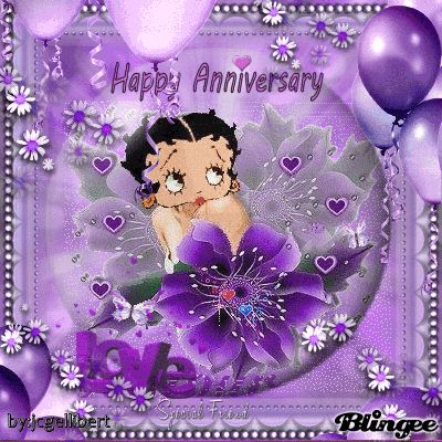 betty boop holiday special day images pinterest happy anniversary betty boop and anniversary
