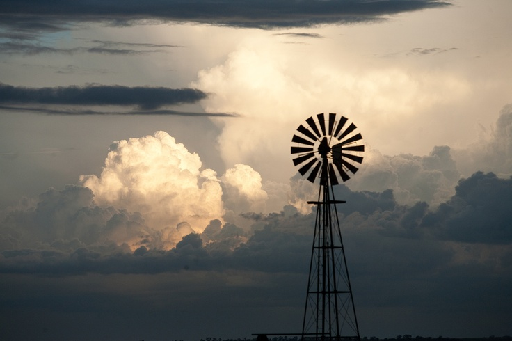 Two uniquely South African things... thunderstorms and windmills #southafrica #travel #satravel