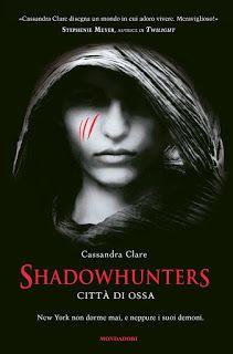 """Leggere Romanticamente e Fantasy: Shadowhunters BlogTour: Recensione """"Città di Ossa""""..."""