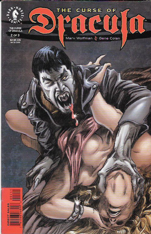 The Curse Of Dracula # 2 Dark Horse Comics