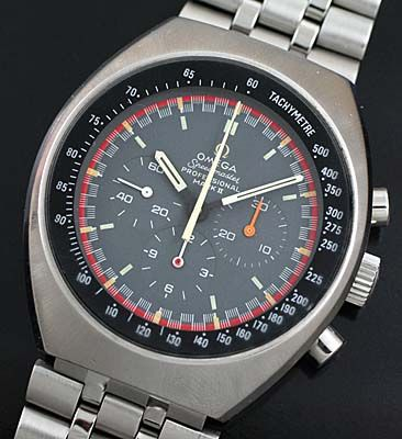 1970 Omega Speedmaster Mk2 vintage Racing Chrono.  Yep, another Omega.   Awesome to the max.