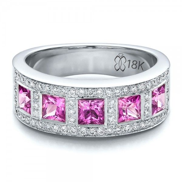 Tiffany Legacy Pink Sapphire Ring