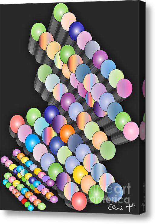 Sequence Acrylic Print By Eleni Mac Synodinos