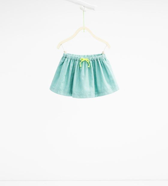Image 1 of Skirt with bow from Zara