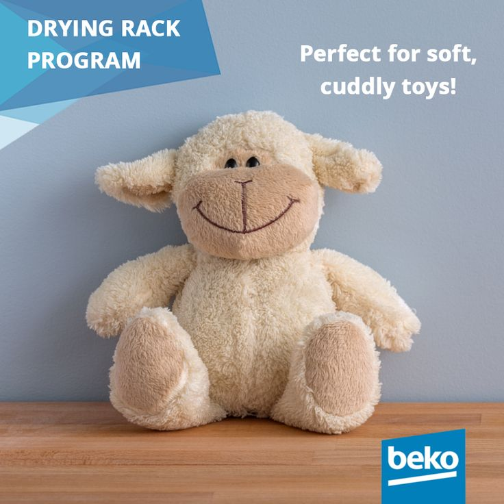 With the special Drying Rack Program Beko relieves your worries about damaging your delicate garments. This program is designed to dry items which are not suitable to tumble in the drum and is recommended for sports shoes, woollens and cuddly soft toys as the rack does not rotate. Learn more about Beko smart solutions for laundry care: http://bit.ly/1jPVQJE #beko #laundry #dryer #smartsolutions